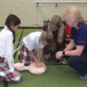 Students and families support British Heart Foundation 'Restart a Heart' Day