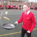 It was a flippin' good Pancake Day at Moyles Court!